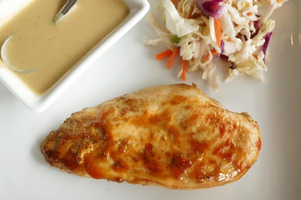 Chicken Satay with Peanut Sauce - 1 Serving Entrée