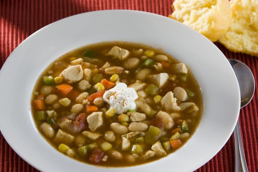 Chicken and White Bean Chili - 3 Serving Entrée