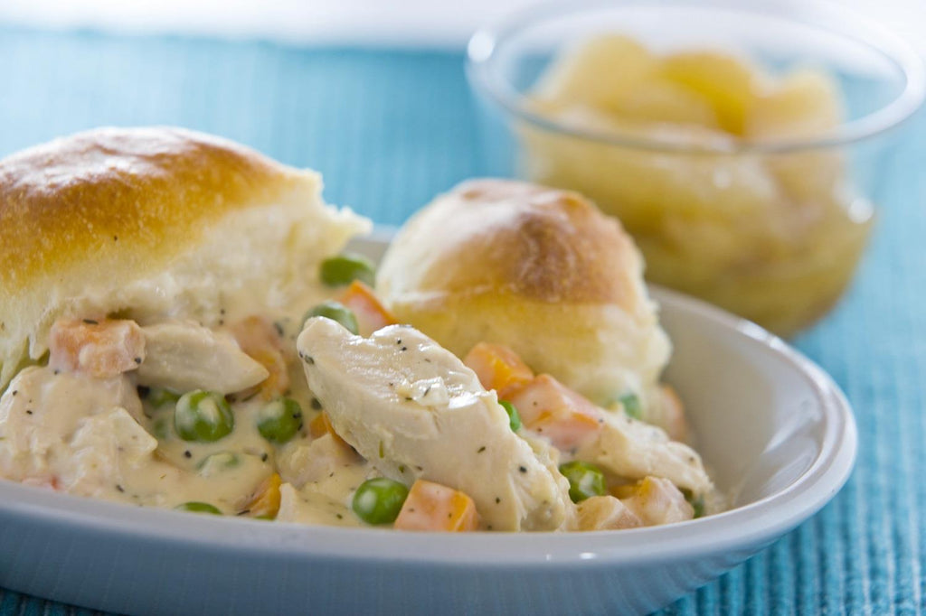 Chicken Pot Pie - 3 Serving Entrée