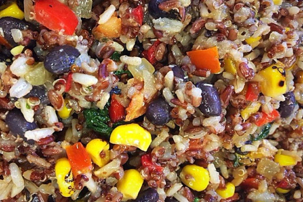 Fire Roasted Vegetables and Exotic Grains - 3 Serving Side