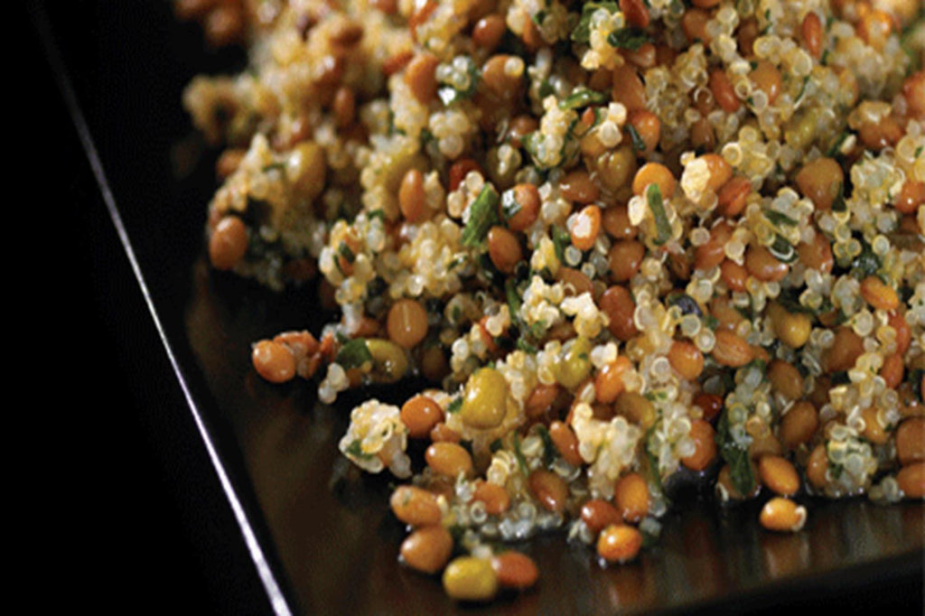 Mediterranean Quinoa with Lentils - 3 Serving Side