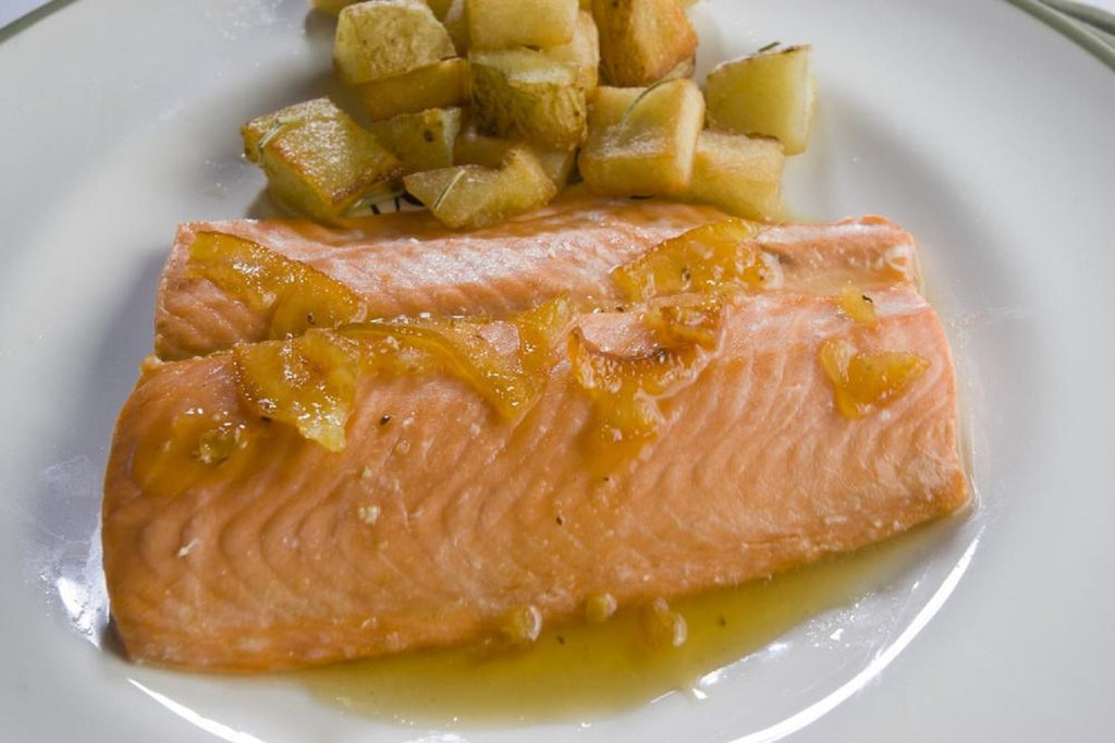Orange-Glazed Salmon - 3 Serving Entrée