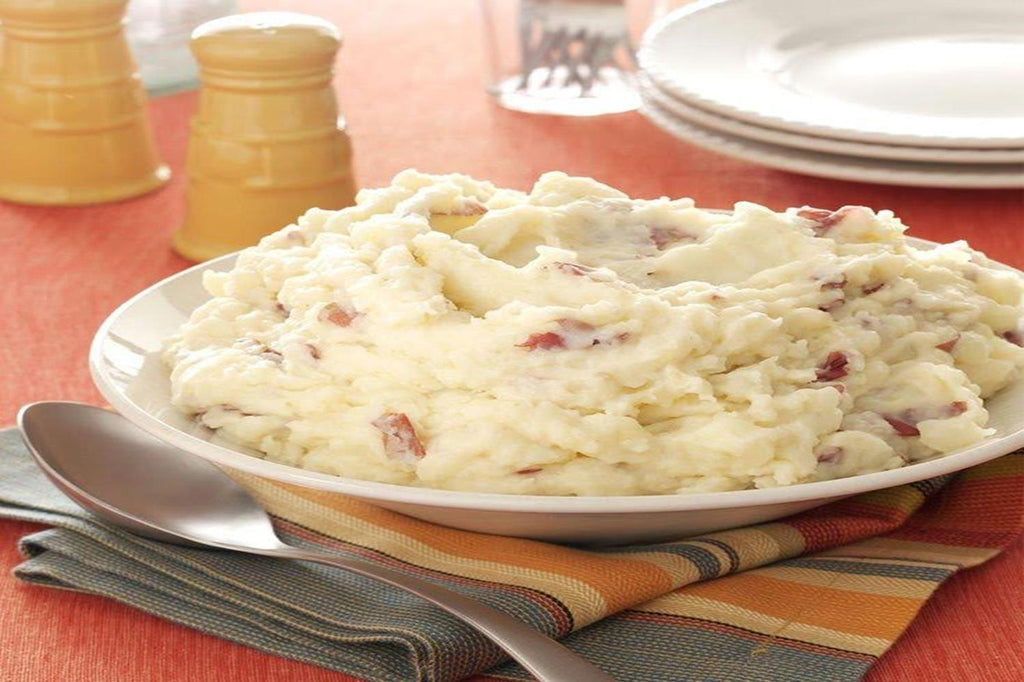 Red Skin Mashed Potatoes with Garlic - 3 Serving Side - Grab n' Go Ready