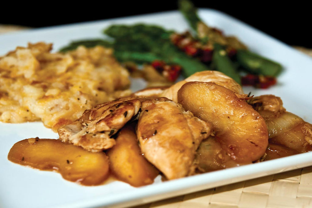 Sauteed Apple Chicken with Thyme - 1 Serving Entrée