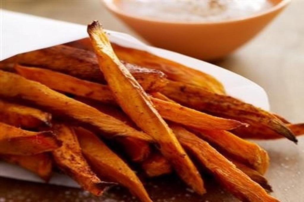 Sweet Potato Fries with Cinnamallow Dip - 3 Serving Side