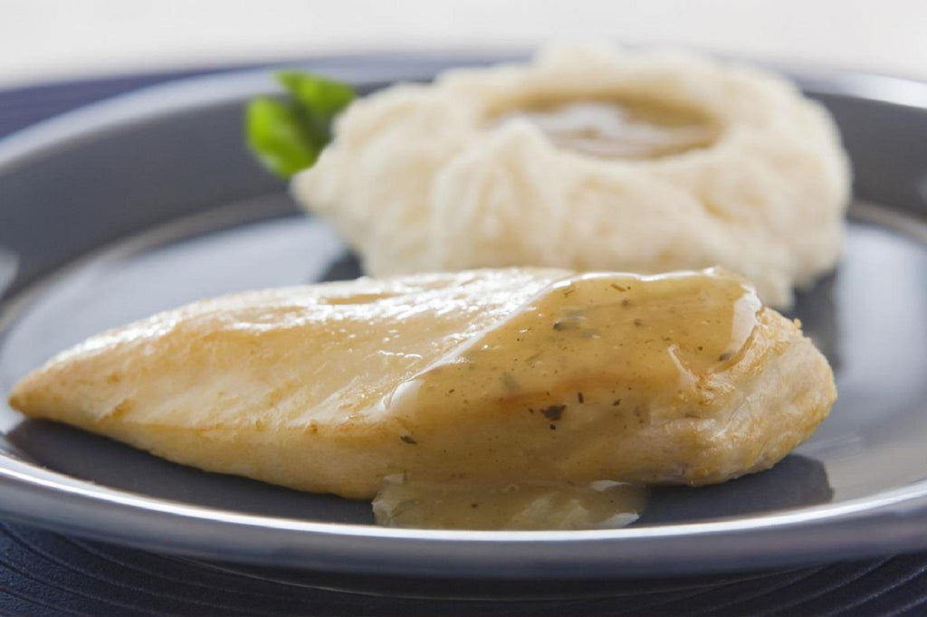 Tender Chicken with Herbed Pan Gravy - 3 Serving Entrée