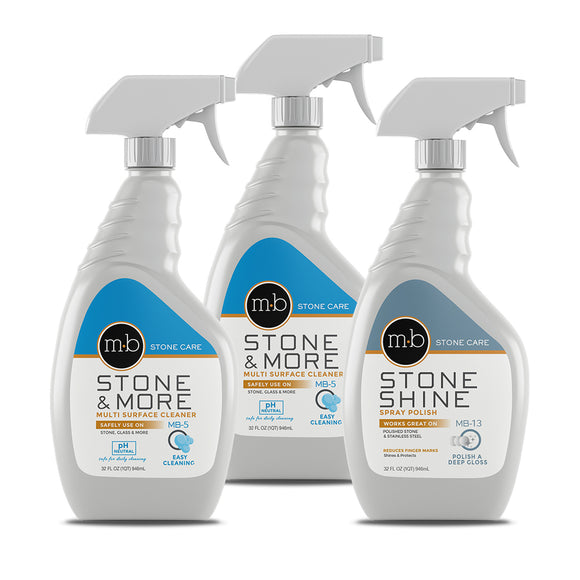 Natural Stone Countertop Ongoing Care Kit