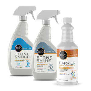 stone countertop clean protect