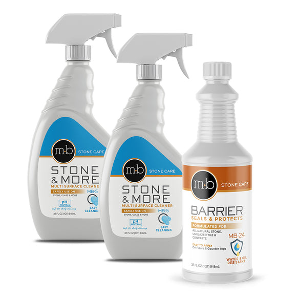 stone countertop cleaner & sealer gold