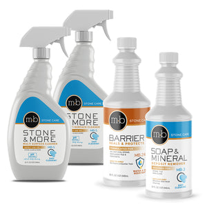 Granite countertop sealer, cleaner, shine
