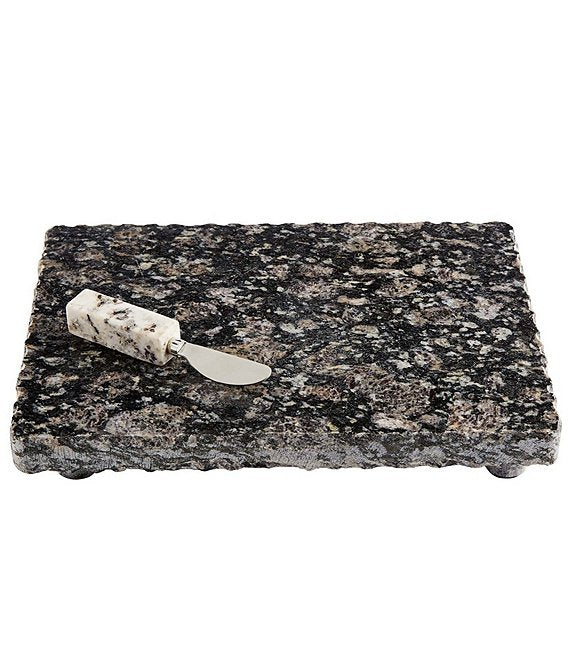 Mud Pie Granite Serving Board with Spreader