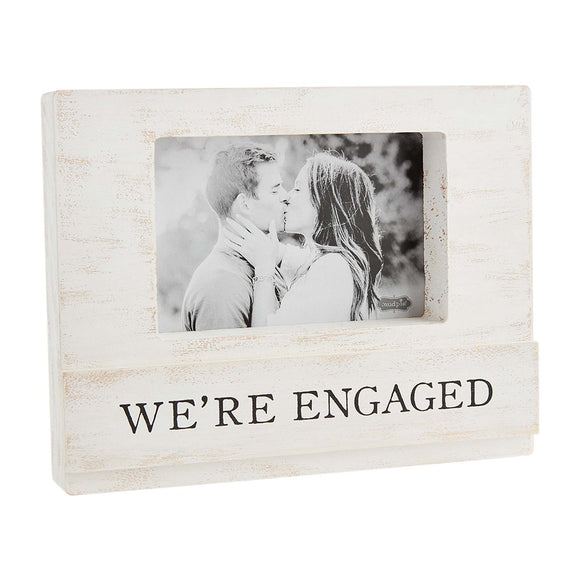 Mud Pie We're Engaged Frame