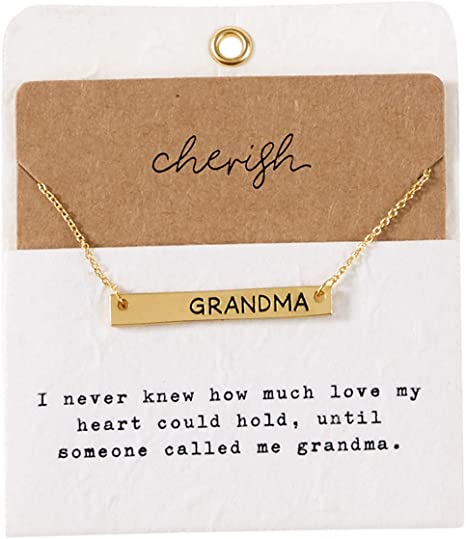 Mud Pie Grandma Necklace