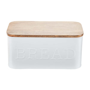 Mud Pie Metal Bread Box