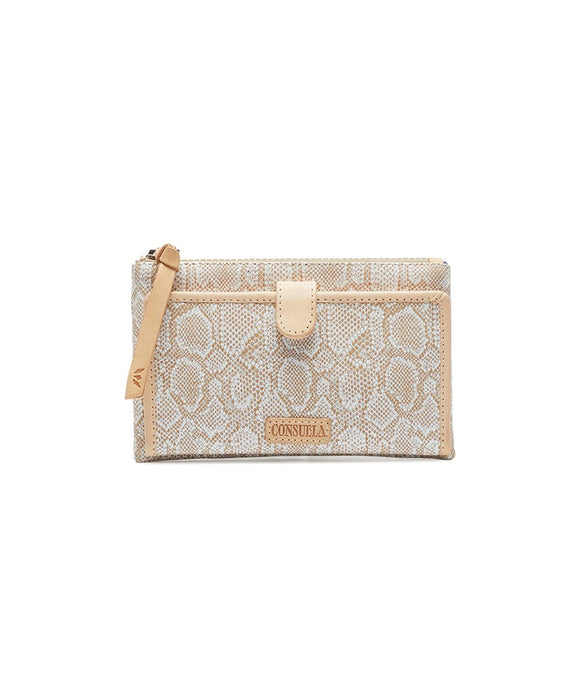Consuela Slim Wallet - Clay
