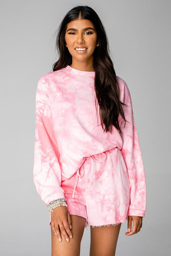 Hailey Loungewear Set-Pink