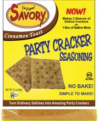 Savory Cracker Seasoning Mix-cinnamon toast