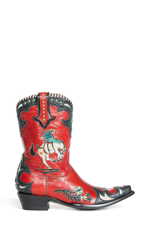 Double D Ranchwear- Cass Red Giddy Up