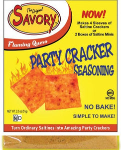 Flaming Queso Cracker Mix