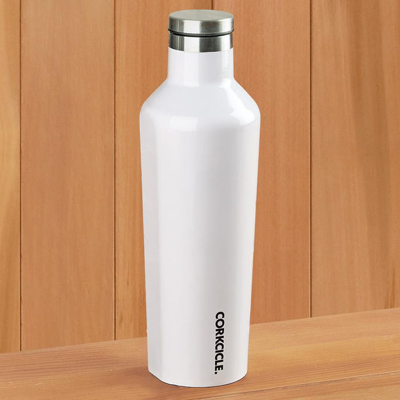 Corkcicle 60 oz Canteen-Gloss White