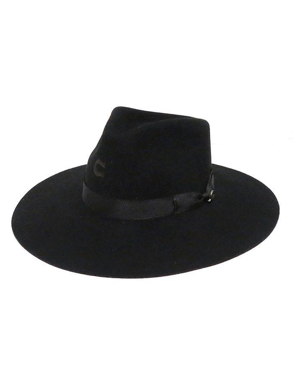 Charlie One Horse Highway Hat  Black