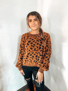 Pebbles Spotted Sweater - Pumpkin