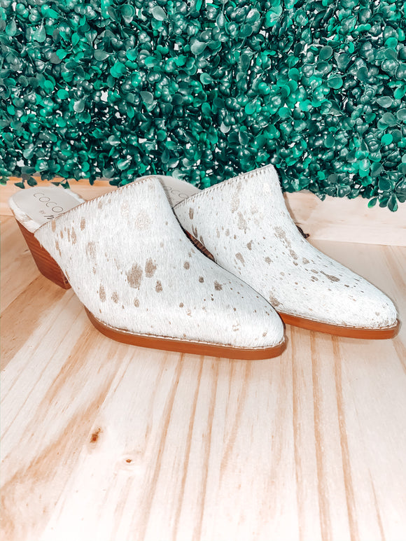 Dolly Cowhide Slip On