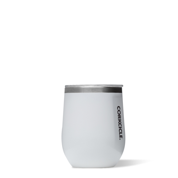 Corkcicle  White Stemless Wine