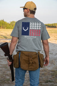Burlebo Hunt Texas Flag Tee