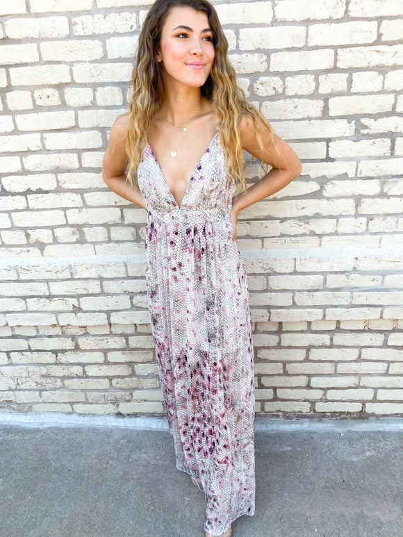 On the Seaside Maxi Dress