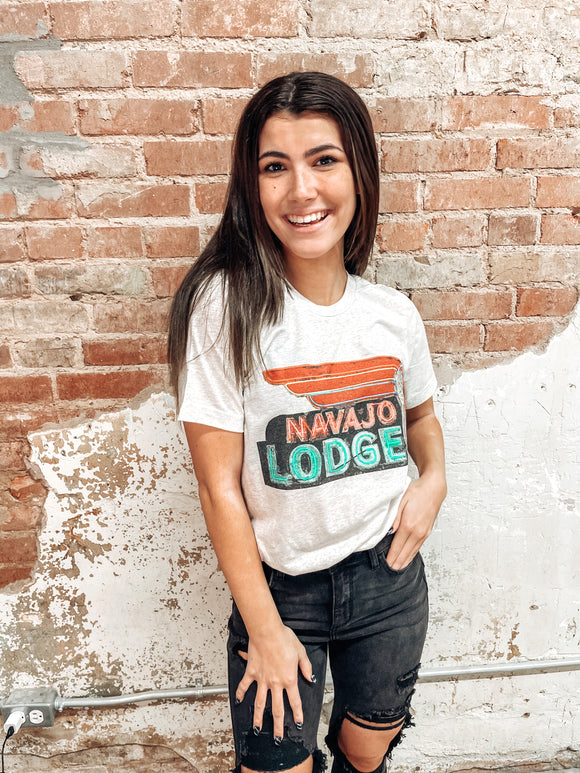 Navajo Lodge Graphic Tee