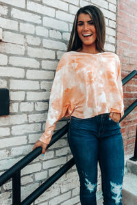 Dreamsicle 3/4 Sleeve Top