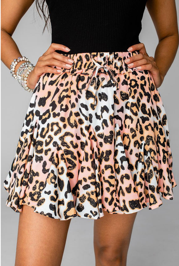 Buddy Love Presley Ruffle Mini Skirt - Dreamsicle