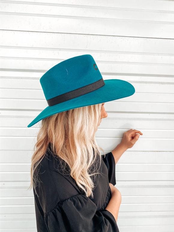 Charlie 1 Highway Hat-Teal
