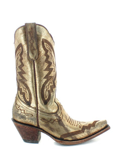 Old Gringo Peyton Gold Boot