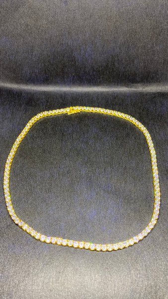 Tennis Chain Gold Plated