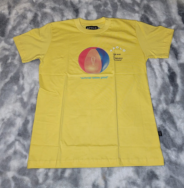 APOLO Beach Ball Tee-Yellow