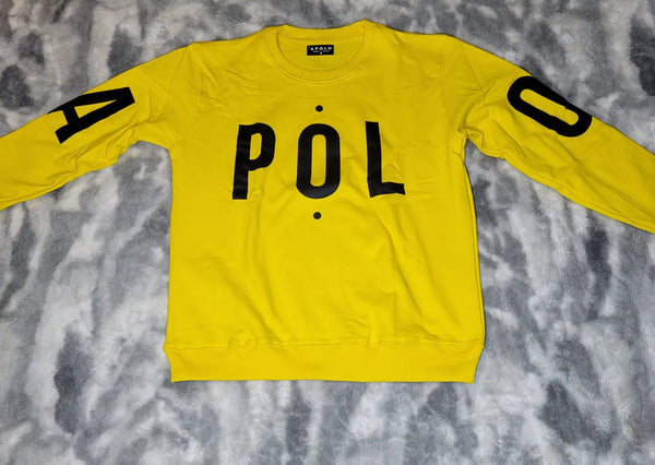 APOLO Logo Sweater-Yellow