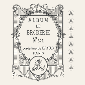 Album de broderie - PAINTSHOP