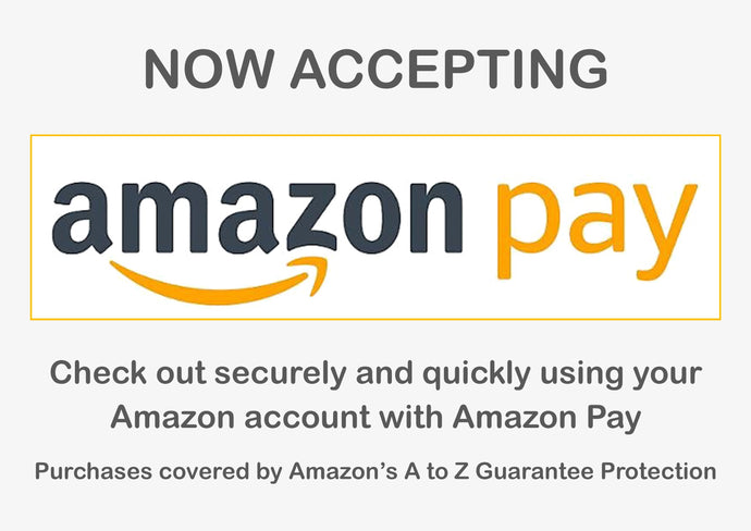 We're now accepting Amazon Pay