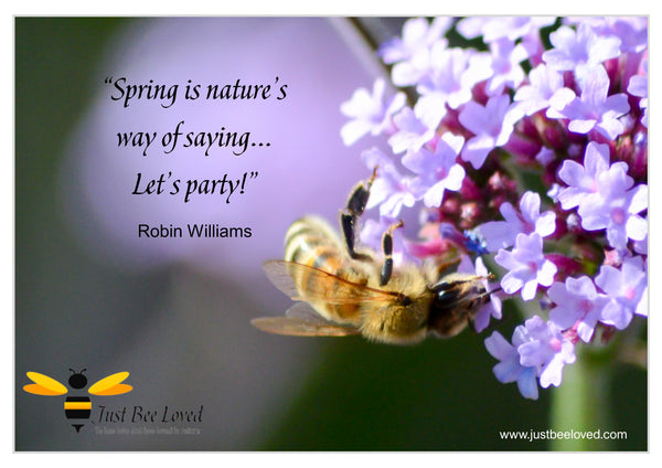 Bee and Nature Quotes Robin Williams