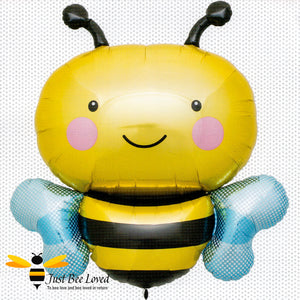 "36"" Bumblebee Large Foil Balloon Bee Party Supplies & Fancy Dress"