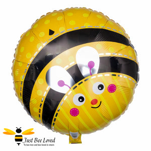 "18"" Round Bumblebee Foil Balloon Bee Party Supplies & Fancy Dress"