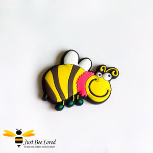 Funny Bumble Bee Fridge Magnet
