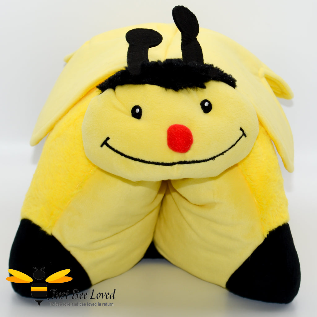 Cosy Toes Pillow Pet Bumblebee Children's Cushion Pillow
