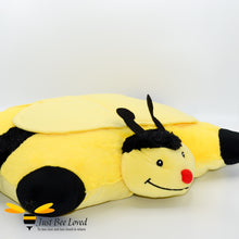 Load image into Gallery viewer, Cosy Toes Pillow Pet Bumblebee Children's Cushion Pillow