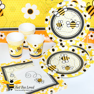 Busy Bee Paper Party Napkins Bee Party Supplies & Fancy Dress