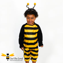 Load image into Gallery viewer, Toddler's Bumblebee Bodysuit & Headpiece Fancy Dress Costume