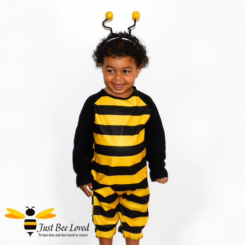 Toddler's Bumblebee Bodysuit & Headpiece Fancy Dress Costume