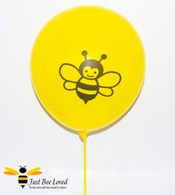 Load image into Gallery viewer, Latex Balloon Plastic Holder Sticks Bee Party Supplies & Fancy Dress